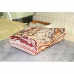 Stretched bacon